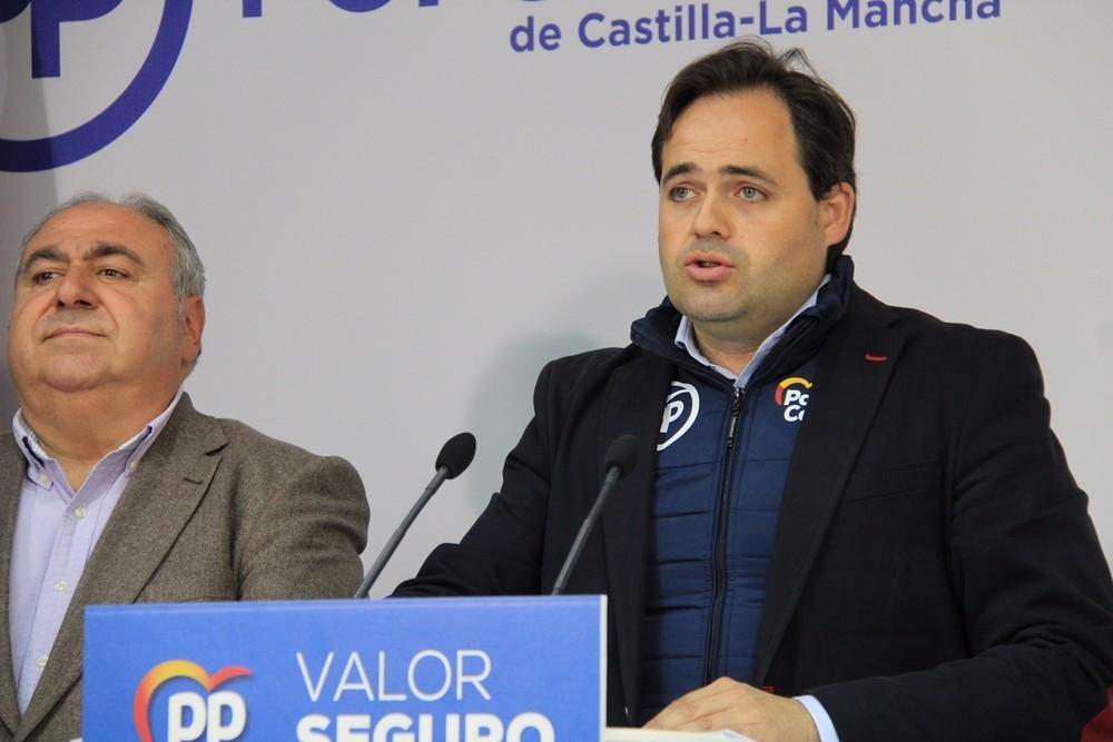 Tirado repetirá como cabeza de lista del PP por Toledo