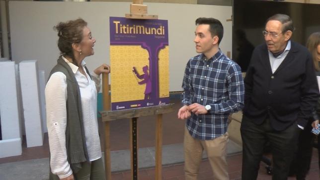 El cartel de Titirimundi hace un guiño a los patios Roberto Carlos Calle