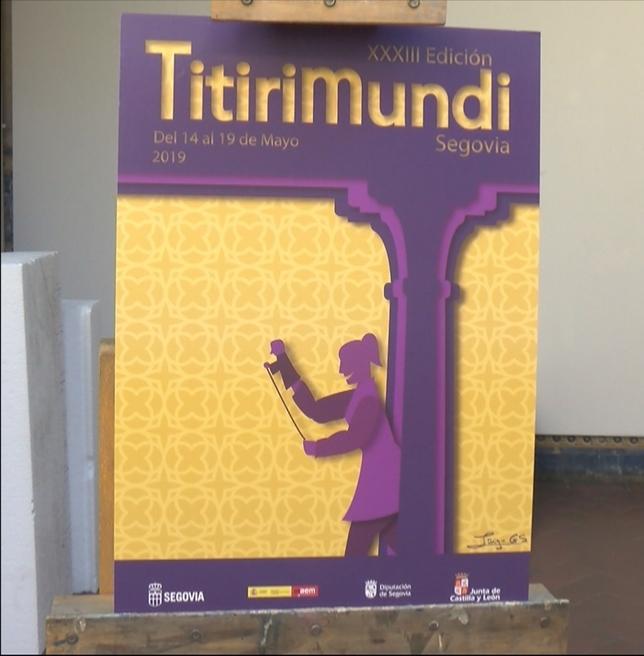 El cartel de Titirimundi hace un guiño a los patios