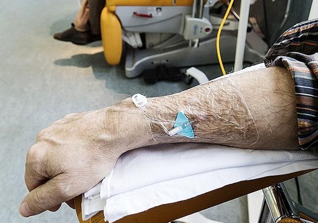 Tratamiento de quimioterapia. DB