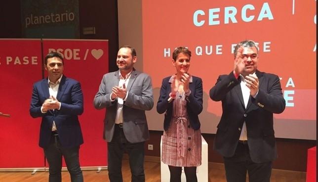 """Ábalos en Pamplona: """"La derecha está por liderar su espacio"""""""