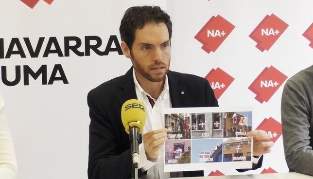 """Sayas sobre la campaña de Geroa Bai: """"Es pura hipocresía"""" Navarra Suma"""