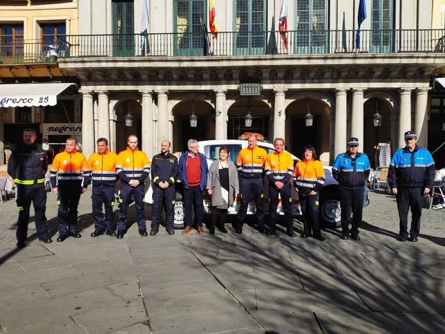 Los 15 de Protección Civil de Segovia