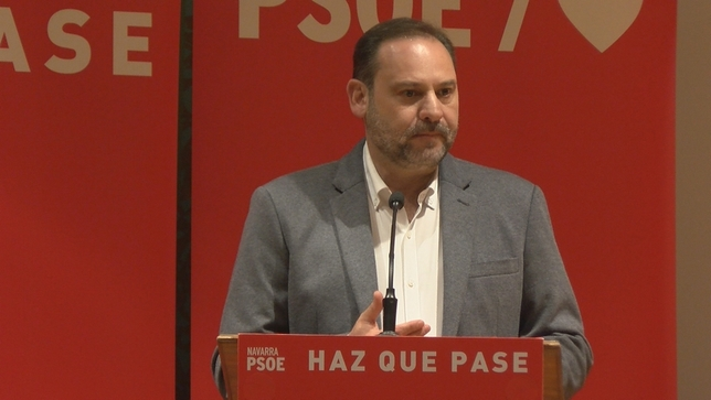 """Ábalos en Pamplona: """"La derecha está por liderar su espacio"""" NATV"""