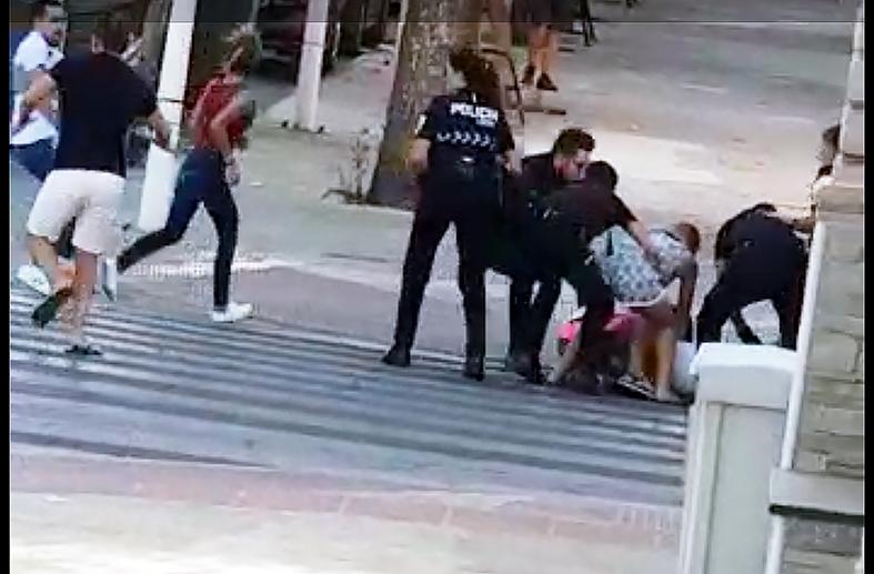 Prisión para tres de los detenidos por la reyerta