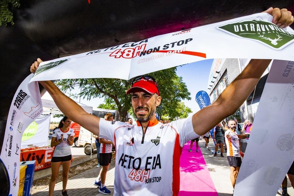 Ultraviviente consigue el reto ELA con 245 kilómetros
