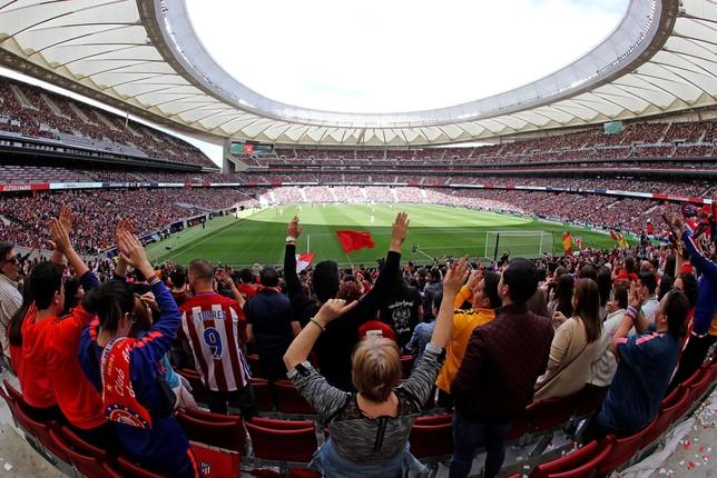 Triunfo culé en un día de récord Kiko Huesca