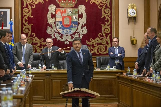 Carlos García, nuevo presidente de la Diputación de Ávila Belén González