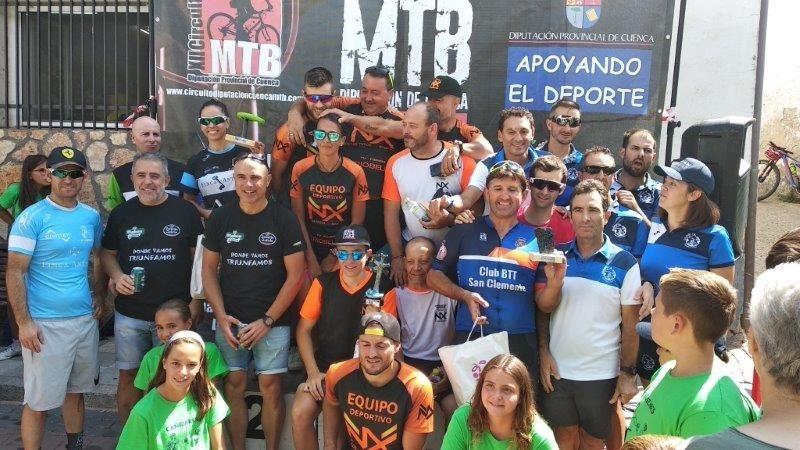 Madrona y Castellote ganan la Marcha MTB de Cañizares