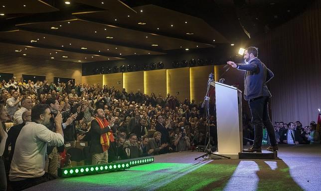 Vox llama en Toledo a «hacer a España grande otra vez» VÁctor Ballesteros