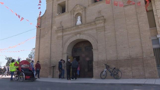 Los corellanos se citan en la ermita de la Virgen del Villar