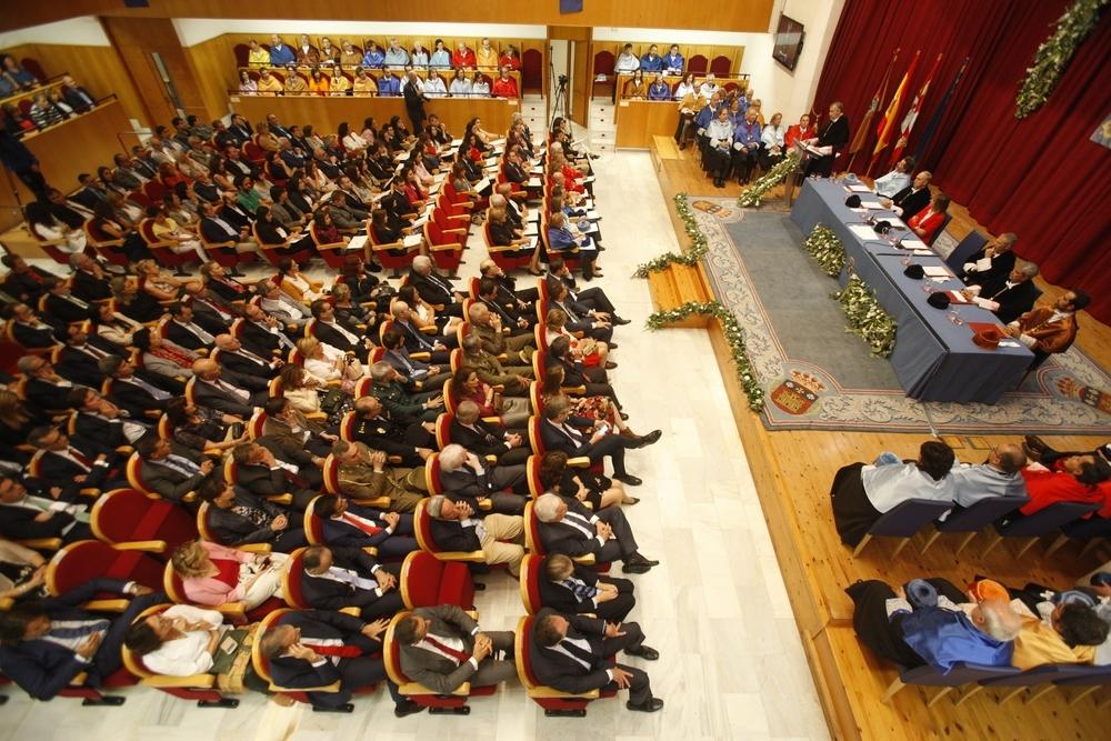 Acto de inicio de curso en el Aula Magna.