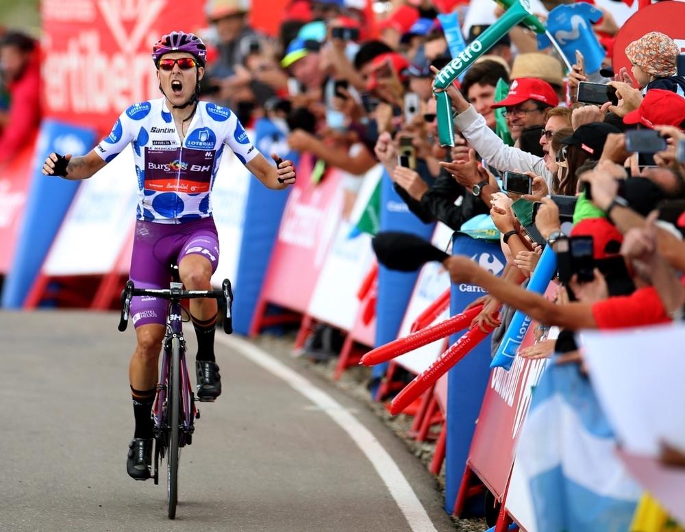 Histórica victoria del Burgos BH en la Vuelta a España