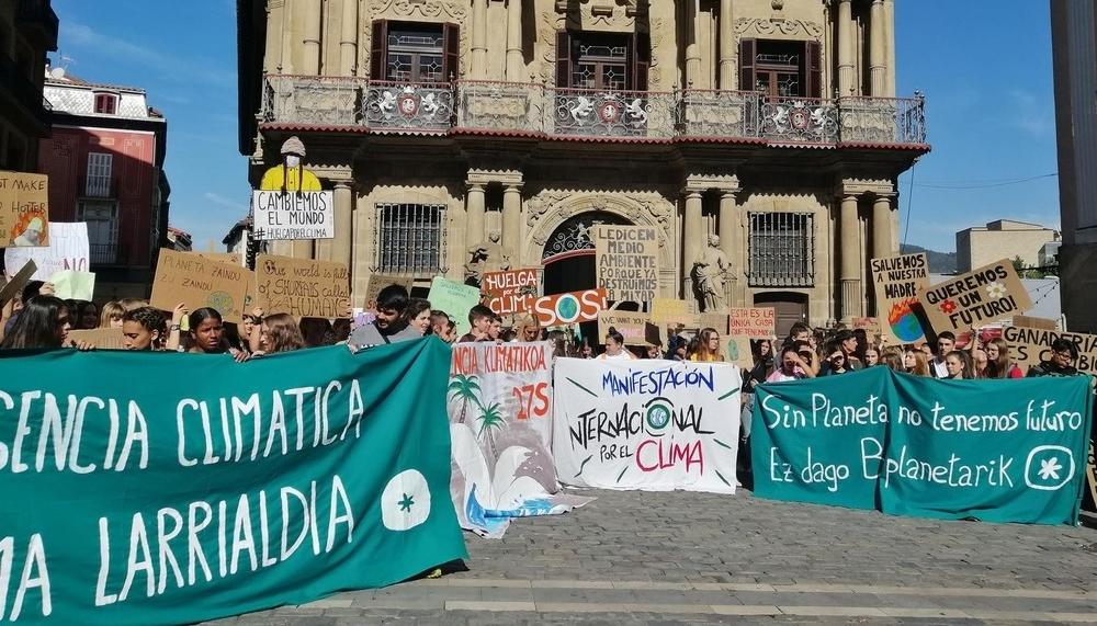 Pamplona da un paso al frente por el cambio climático
