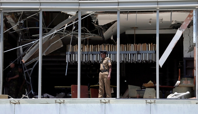 Al menos 185 muertos en ocho atentados en Sri Lanka