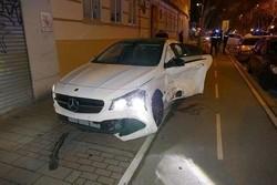 Dos heridos en una colisión en Real de Burgos