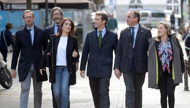 """El PP da la """"bienvenida"""" a Ciudadanos al pacto navarro"""