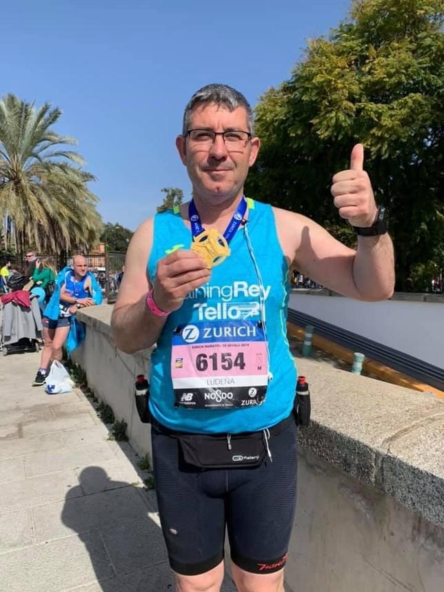 Nueve atletas del TrainingRey finalizan en Sevilla