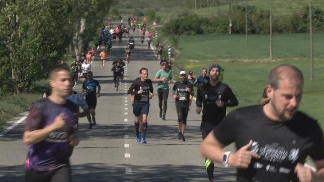 Cientos de corredores conquistan el Castillo de Javier NATV
