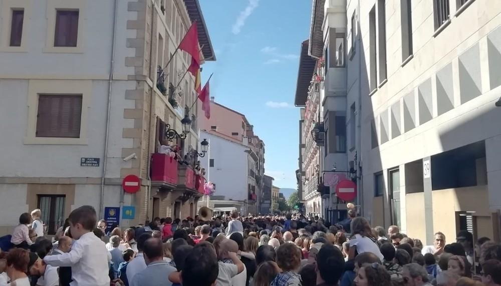 'Fascista agresión': Na+ y PSN apoyan lo ocurrido en Villava