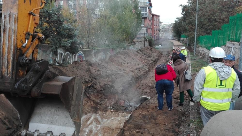 Obras para mejorar el saneamiento y evitar inundaciones