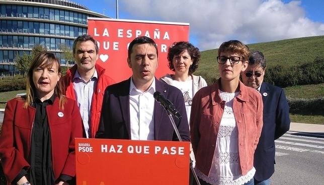 PSN invertirá en ciencia para hacer una Navarra competitiva Europa Press