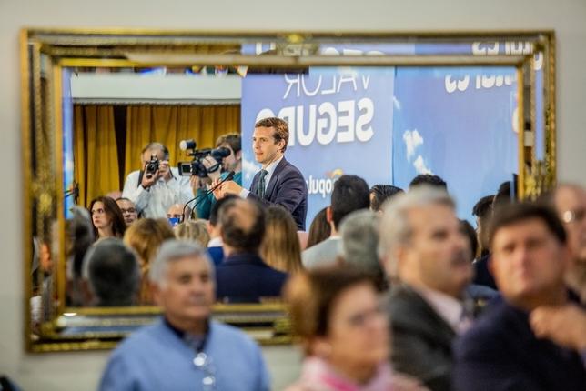 Pablo Casado avanza más seguridad y medidas para familias Pablo Lorente
