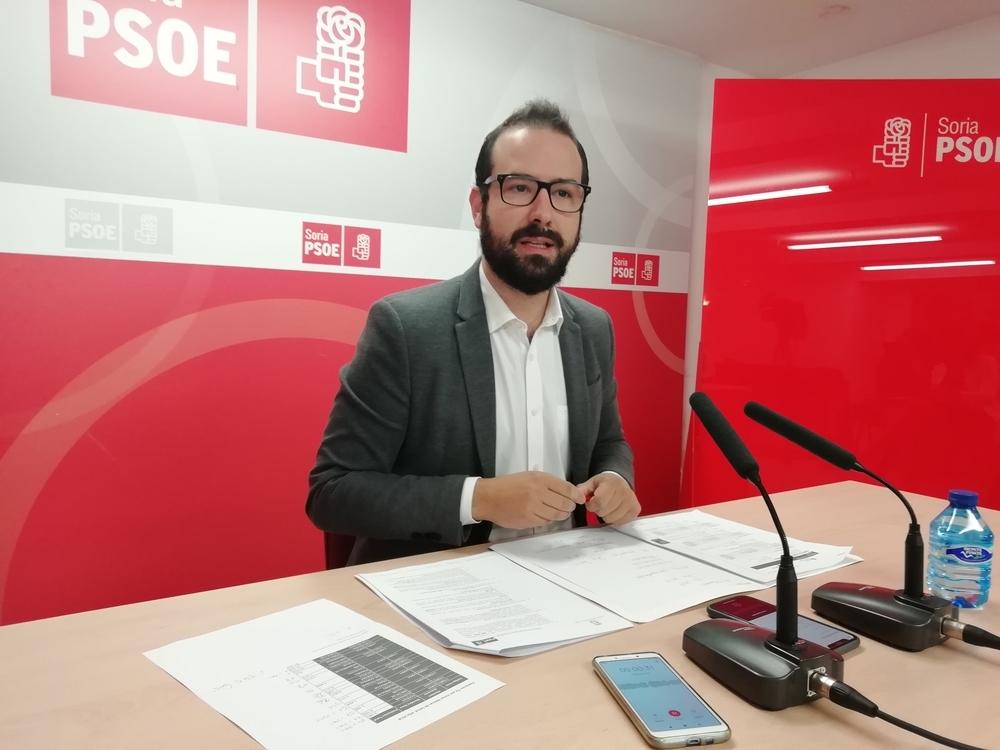 Hernández pide a la Junta compromiso con el Plan Soria