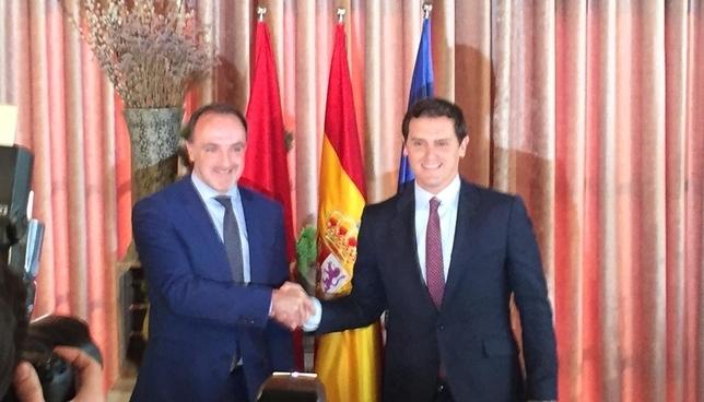 Rivera y Esparza ratifican el acuerdo 'Navarra suma'