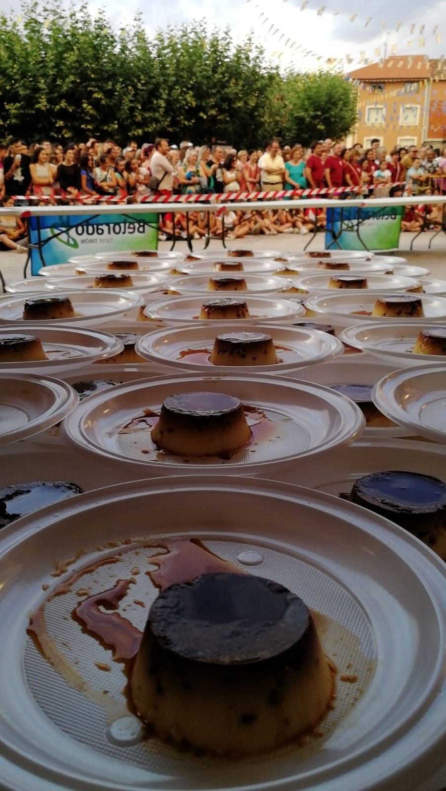 Belorado buscará el récord Guinness de succión de flanes