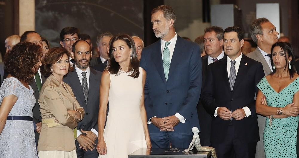 Los Reyes inauguran una muestra sobre Magallanes y Elcano