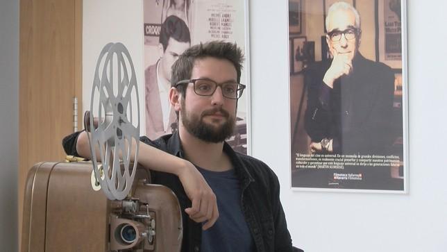 El director navarro Jon Mikel Caballero NATV