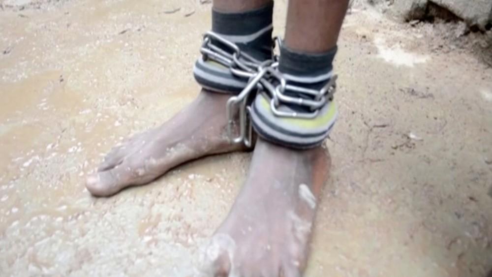 Liberadas más de 300 personas encadenadas en Nigeria