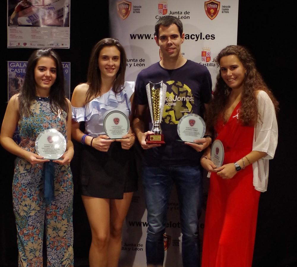 Pedrajas acogió la Gala Regional de Pelota