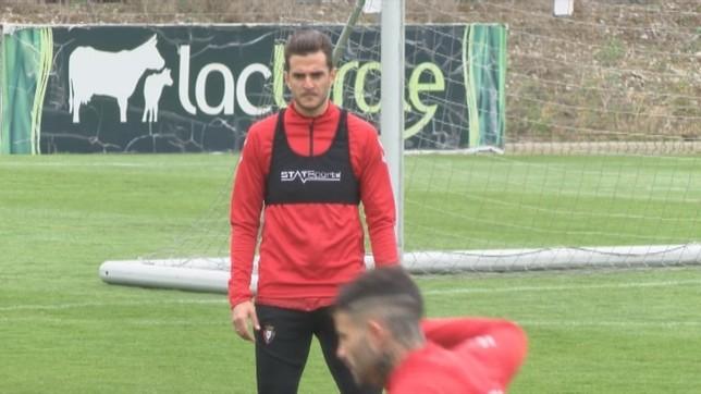 Juan Villar es el máximo artillero de Osasuna en la presente campaña: once goles.
