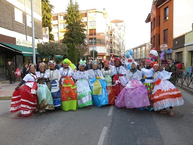 El Carnaval toma las calles de Medina y Villarcayo