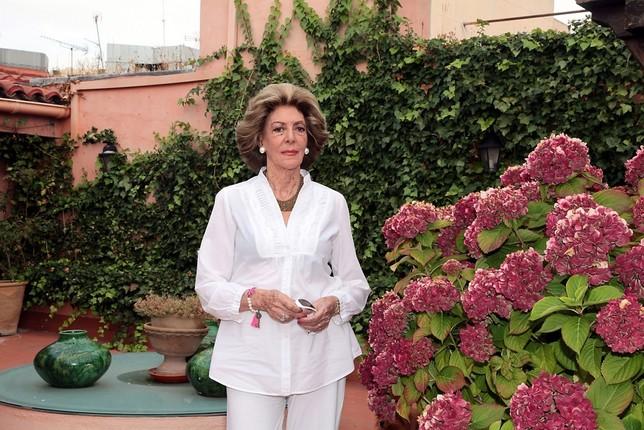 Muere Pitita Ridruejo a los 88 años en Madrid  EUROPA PRESS