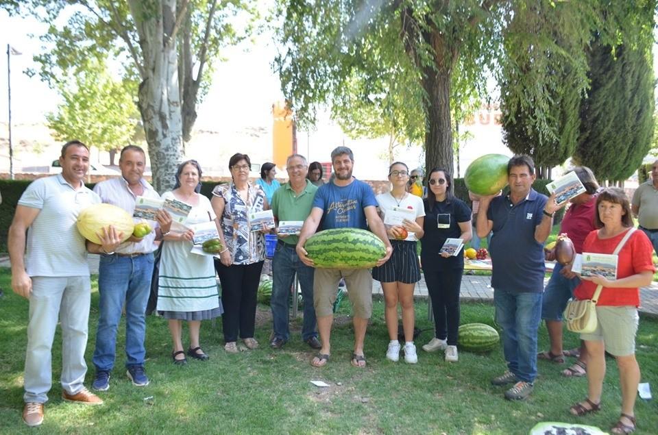 Una sandía de 46 kilos, premiada en un concurso de hortaliza