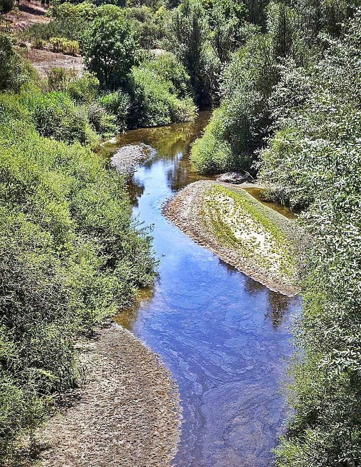 La sequía deja los ríos de Valladolid bajo mínimos