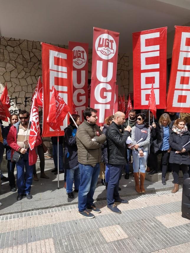 UGT denuncia la subida de accidentes laborales en Cuenca
