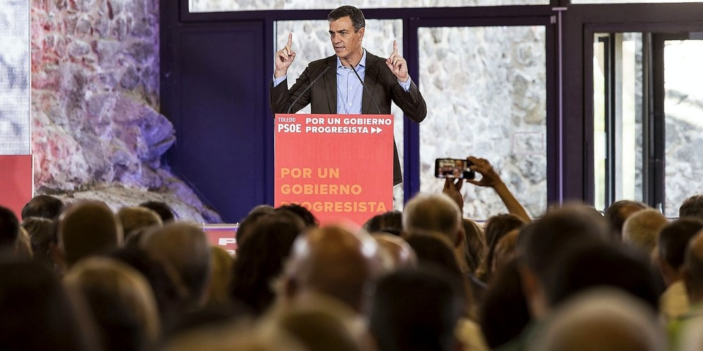 Pedro Sánchez reunió en Toledo a centenares de alcaldes y concejales socialistas, en el marco del Consejo de Política Municipal que se podría calificar como su primer acto de precampaña.