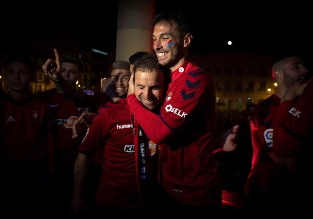 Osasuna es equipo de Primera División
