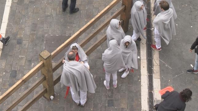 Pamplona revive sus encierros en pleno mes de marzo