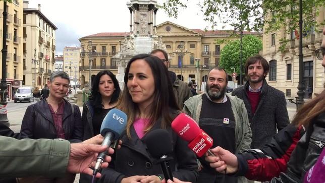 """Unidas Podemos: """"Solo nosotros podemos ganar a Navarra Suma"""" Unidas Podemos"""