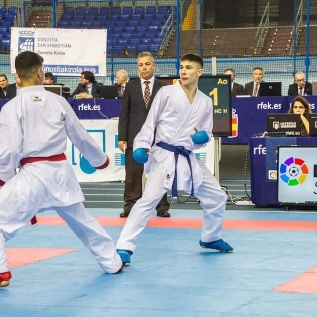 Cinco medallas para el Kidokan en la Liga Júnior y Sub 21