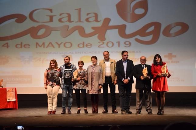 Emotivos reconocimientos en la III Gala Contigo de Tarancón