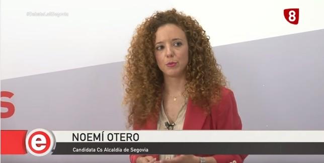 El minuto de oro de Noemí Otero (Ciudadanos)