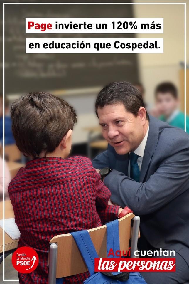 El PSOE despliega su precampaña