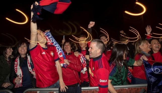 Todas las celebraciones rojillas, en directo en Navarra TV