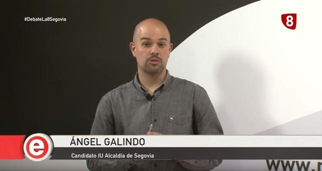 El minuto de oro de Ángel Galindo (IU)